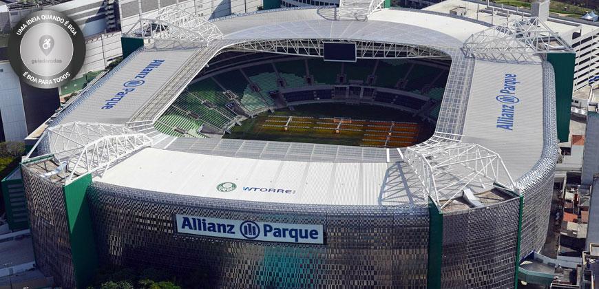 Allianz Parque conquista Certificação Guiaderodas