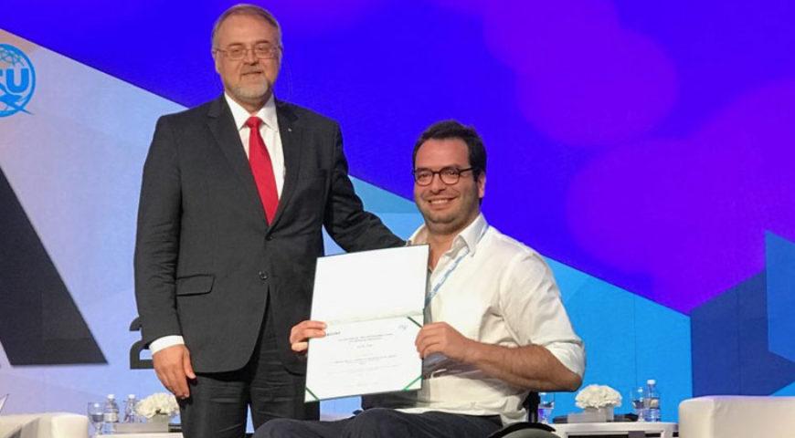 Guiaderodas ganha prêmio como Melhor Aplicativo para Acessibilidade pelo ITU