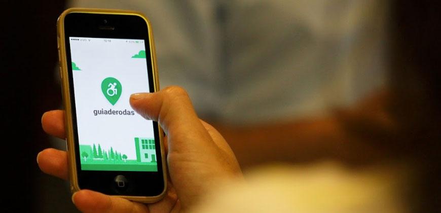 O maior aplicativo de acessibilidade do Brasil