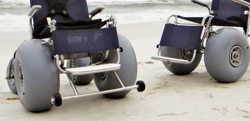 Conheça o Programa Praia Acessível em San Diego/CA