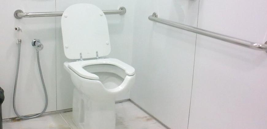 Vaso sanitário com abertura frontal: para que serve?