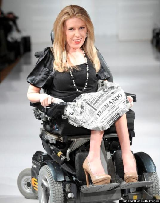 moda inclusiva Danielle Sheypuk