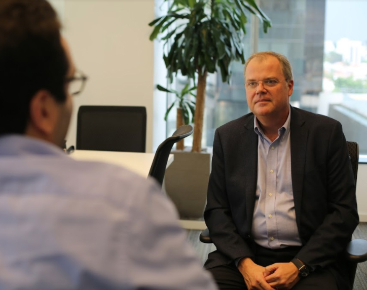 Charles Krieck, CEO da KPMG