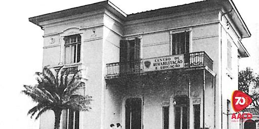 O primeiro prédio da AACD