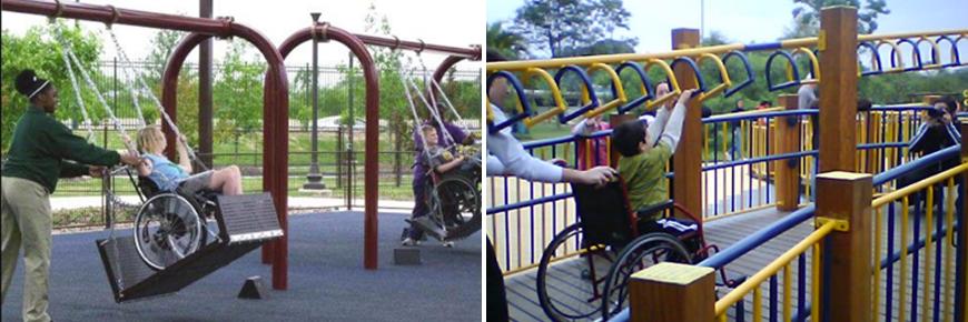 Acessibilidade em parques