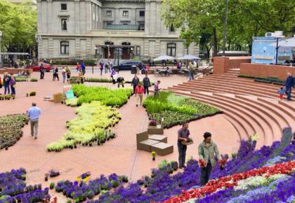 Acessibilidade em parques, praças e espaços livres