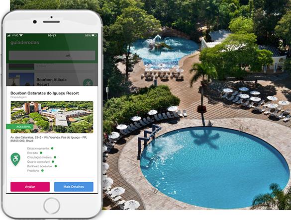 Acessibilidade Resort Bourbon Cataratas do Iguaçu Resort
