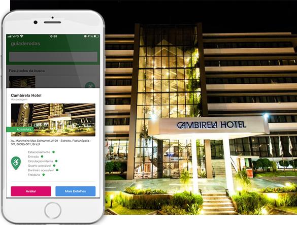 acessibilidade cambirela hotel