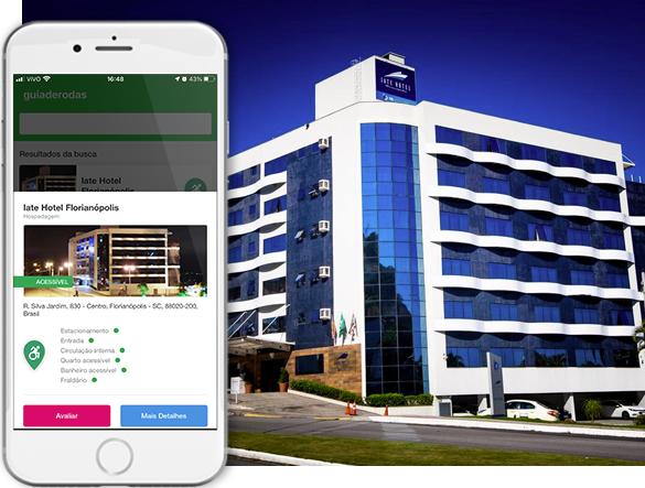 acessibilidade iate hotel florianopolis