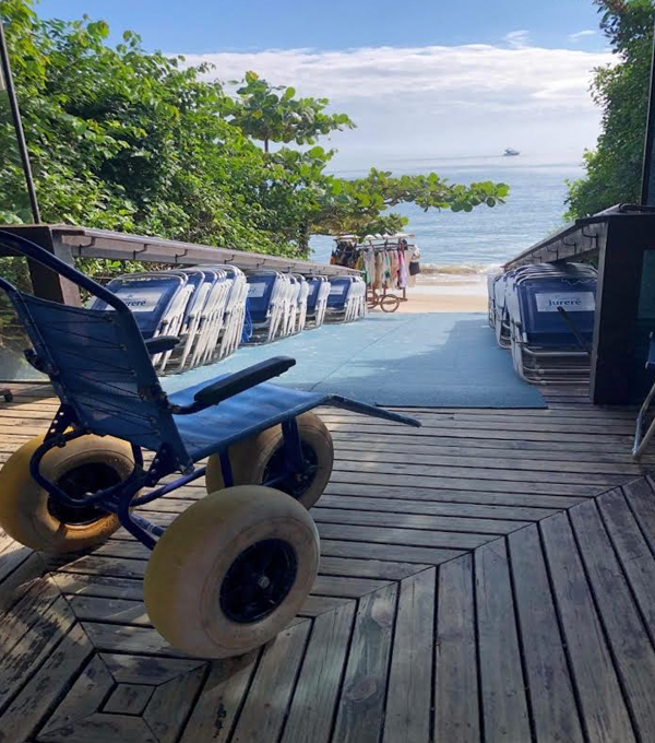 Acessibilidade em Jurerê Beach Village