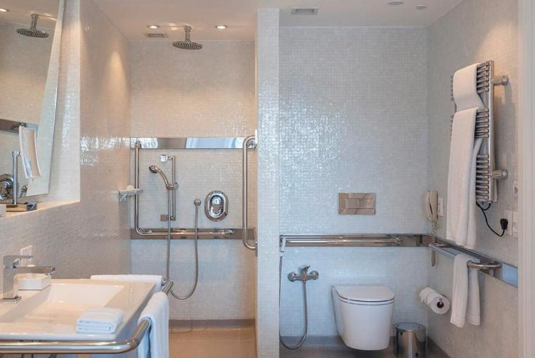 hotel unique acessibilidade