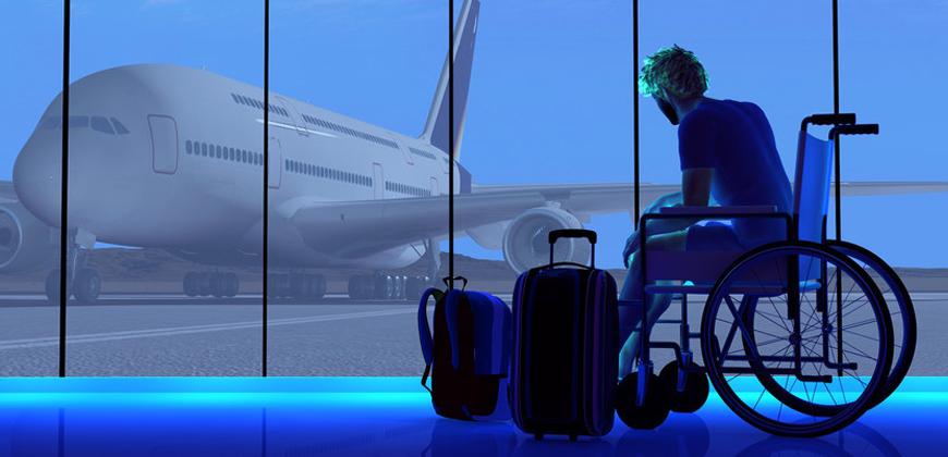 passagem aérea para pessoa com deficiência