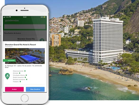 Acessibilidade Sheraton Grand Rio Hotel & Resort
