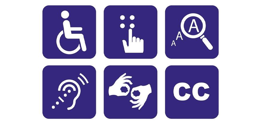 Símbolos de Acessibilidade