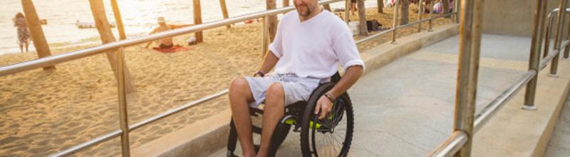 pessoa com deficiência viajar no verão