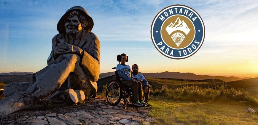 Instituto Montanha para Todos traz o tema acessibilidade para o montanhismo
