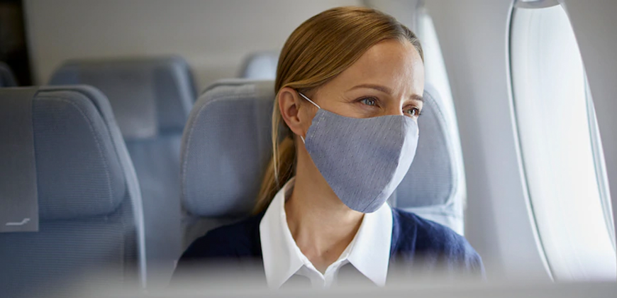 Viagem na pandemia: voando com segurança