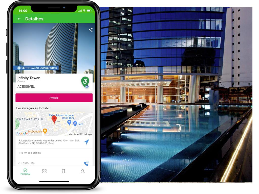 infinity tower avaliação no App