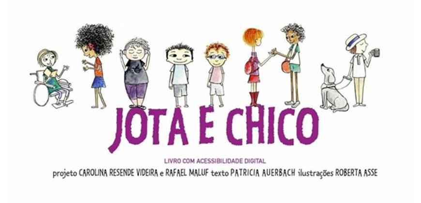 Jota e Chico – Um Livro Inclusivo