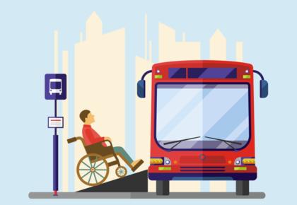 Lei estadual de 2019 traz segurança para pessoas com deficiência no transporte público