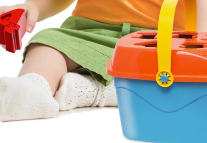 Coleção Baby Land da Cardoso Toys trazem brinquedos para crianças cegas
