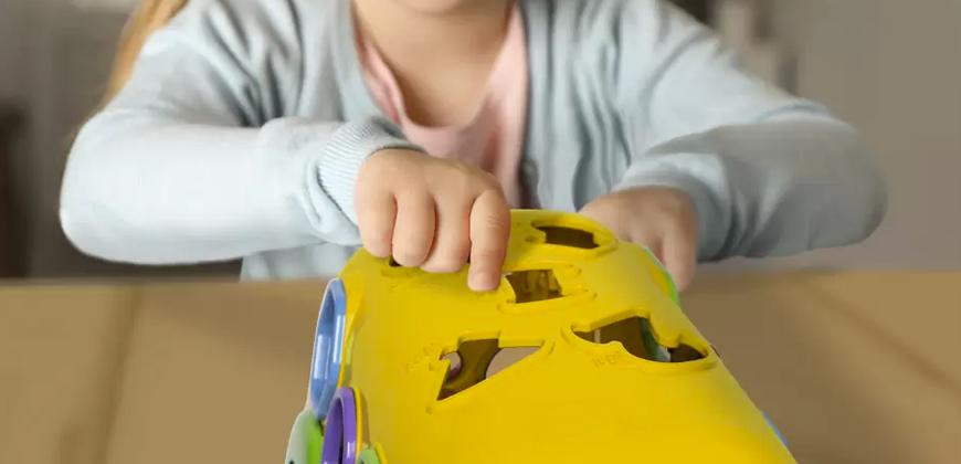 brinquedos para crianças cegas