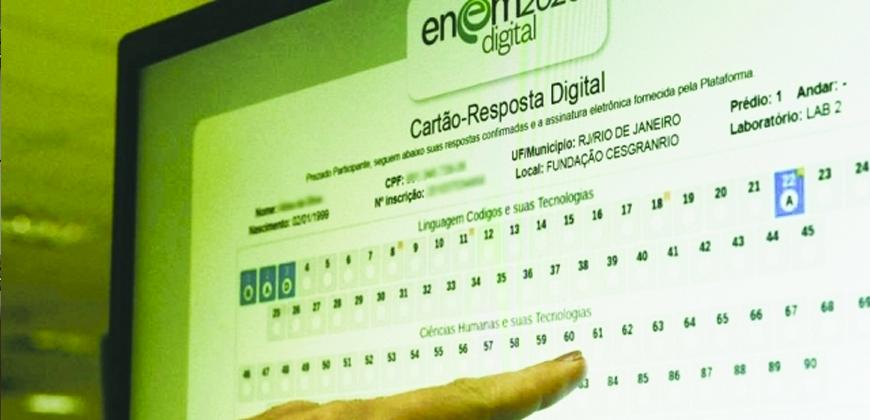 Enem 2021: prova digital terá recursos de acessibilidade aos estudantes