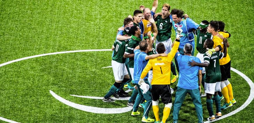 Domínio mundial: saiba mais sobre o futebol de 5 brasileiro