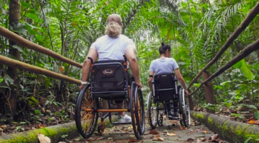 4 dicas de trilhas acessíveis para pessoas com deficiência
