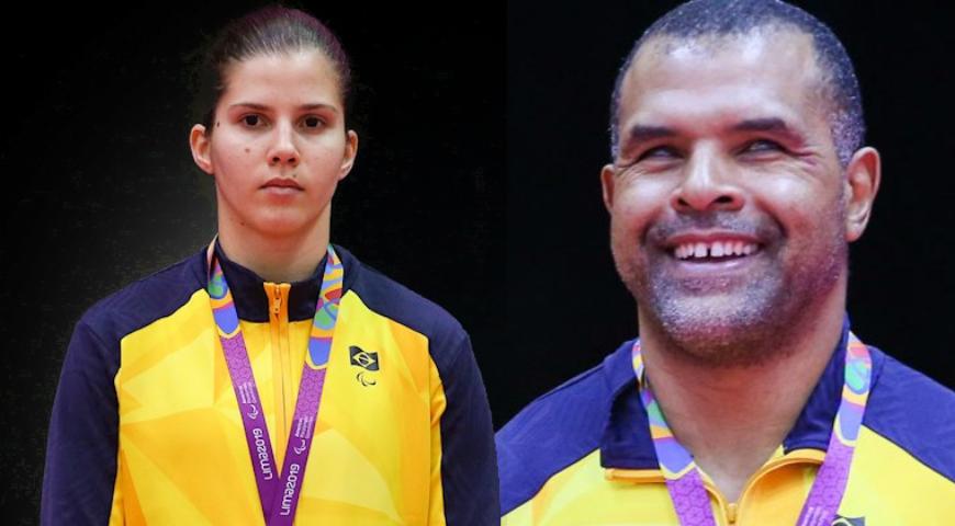 Antônio Tenório e Alana Maldonado: encontro de gerações de ouro