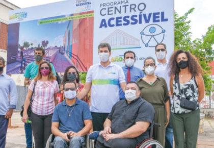 Maranhão lança programa 'Centro Acessível'