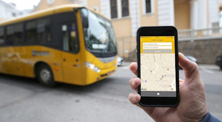 Aplicativo promove inclusão de passageiros com deficiência visual no transporte público